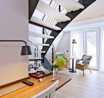 RheintorEins, 5 Zimmer, Frühstückspension